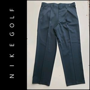 Nike Golf Men Flat Front Fit Dry Pants Size 38